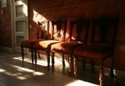 antikvariniai baldai ir sviestuvai