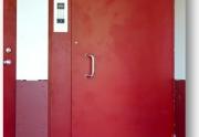 Domofonas daugiabuciams, laiptinės durys