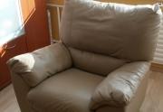 odinis fotelis su reglainerio funkcija