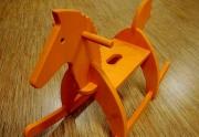 Medinis supamas arkliukas
