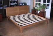 Ąžuolinės lovos be parduotuvės antkainio