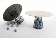 Pietų stalas Gabion