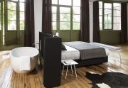 """AREA""  lova - kambario kambaryje idėja"