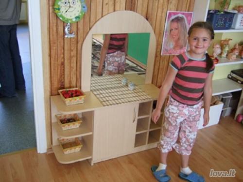 Vaikų darželio baldai Kirpykla 2