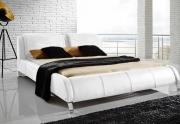 Minkšta odinė lova
