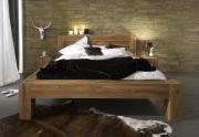 Moderni ąžuolinė lova MAS