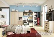 Miegamojo baldų komplektas Malva