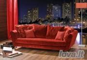 Minkšta dvivietė sofa Levitan