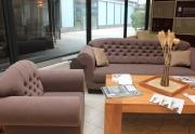 Komplektas Sofa ir fotelis
