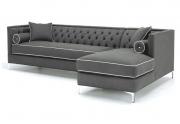 Minkštas kampas-sofa LOGANA