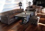 Restorano minkšti baldai