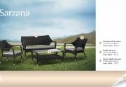 Lauko baldų komplektas Sarzana