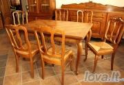 Virtuvinis stalas su kėdėm
