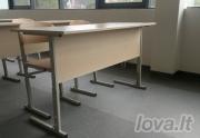 Mokyklinis dvivietis suolas