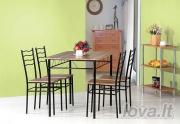Stalas + 4 kėdės ESPRIT