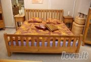 Dvigulė ąžuolinė lova
