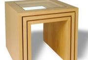 Svetainės staliukai Cube