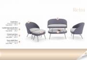Lauko baldų komplektas Retro 1