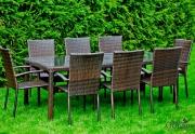 Lauko valgomojo baldų komplektas Sotile